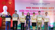 16 tập thể và cá nhân ngành Văn hóa và Thể thao được khen thưởng về thực hiện cải cách hành chính
