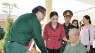 Phó Chủ tịch HĐND tỉnh thăm các trung tâm, khu điều dưỡng thương binh và gia đình chính sách