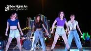 Lễ hội biểu diễn âm nhạc đường phố ở phố biển Cửa Lò