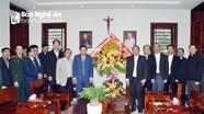 Phó Chủ tịch Thường trực UBND tỉnh chúc mừng Giáng sinh tại Đại chủng viện Thánh Phanxicô Xaviê
