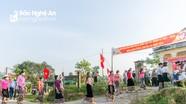 Những hình ảnh sinh động của cử tri các vùng miền ở Nghệ An tham gia bầu cử