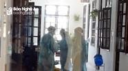 Xúc động hình ảnh những y, bác sĩ ở Bệnh viện dã chiến số 1 Nghệ An