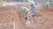 Khởi công xây nhà tình nghĩa cho các CCB có hoàn cảnh khó khăn