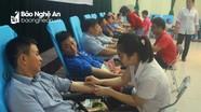 Quỳnh Lưu: Gần 1.500 người tham gia ngày hội hiến máu tình nguyện