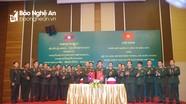 Hội đàm về phối hợp bảo vệ biên giới hai nước Việt Nam – Lào