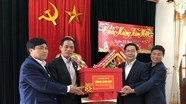 Phó Thủ tướng Vương Đình Huệ chúc Tết Đảng bộ và nhân dân Thị xã Thái Hòa