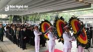Đoàn đại biểu tỉnh Nghệ An viếng nguyên Chủ tịch nước, Đại tướng Lê Đức Anh