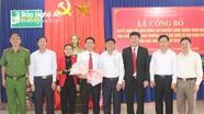 Trưởng phòng Kinh tế - Hạ tầng huyện Anh Sơn giữ chức vụ Bí thư Đảng ủy thị trấn