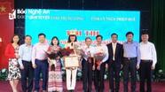 Thí sinh Nghệ An đoạt giải Nhì Hội thi Báo cáo viên giỏi khu vực II