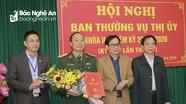 Thị xã Hoàng Mai công bố quyết định của BTV Tỉnh ủy về công tác cán bộ