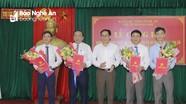 Công bố hợp nhất Ban Tổ chức Thị ủy và Phòng Nội vụ TX Hoàng Mai