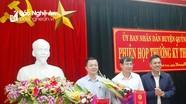 Quỳnh Lưu công bố các quyết định bổ nhiệm cán bộ