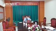 Đảng ủy Khối Các cơ quan tỉnh tổ chức hội nghị trực tuyến rút kinh nghiệm đại hội điểm cấp cơ sở