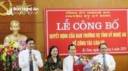 Công bố quyết định điều động, chỉ định Phó Bí thư Huyện ủy Kỳ Sơn