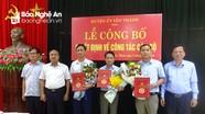 Công bố quyết định chuẩn y Chủ nhiệm UBKT Huyện ủy Yên Thành