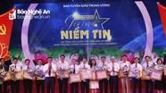 Nghệ An đứng thứ 2 toàn quốc về số lượng giải cuộc thi tìm hiểu 90 năm truyền thống ngành Tuyên giáo