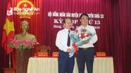Hưng Nguyên bầu bổ sung chức danh Phó Chủ tịch UBND huyện