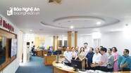 Đoàn công tác Hội Nhà báo Việt Nam thăm tòa soạn Hội tụ Báo Nghệ An