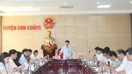 Lãnh đạo tỉnh làm việc tại Con Cuông về Chương trình mục tiêu quốc gia giảm nghèo bền vững