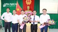 Quỳ Hợp, Thanh Chương  bầu Phó Chủ tịch UBND, Chủ tịch Ủy ban MTTQ huyện
