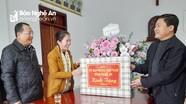 Chủ tịch Ủy ban MTTQ tỉnh chúc mừng Giáng sinh 2020