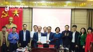 Ký kết Quy chế phối hợp giữa Ủy ban Kiểm tra Tỉnh ủy với Ban Thường vụ Đảng ủy Khối Các cơ quan tỉnh