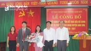 Anh Sơn có tân Phó Chủ tịch UBND huyện