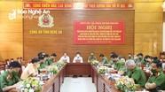 Tăng cường phối hợp kiểm tra, giám sát, kỷ luật đảng giữa Đảng ủy Công an và cấp ủy địa phương
