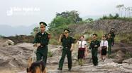 Bộ đội Biên phòng Nghệ An: Tô thắm sắc xanh vùng biên