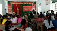 Khai giảng lớp học tình thương ở xã biên giới