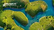 """""""Đảo chè"""" của tác giả Nghệ An được triển lãm tại cuộc thi ảnh nghệ thuật du lịch toàn quốc"""