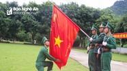 Bộ Chỉ huy BĐBP Nghệ An tuyên thệ chiến sỹ mới năm 2018