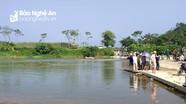 Nghệ An: Rủ nhau tắm sông, một học sinh bị đuối nước