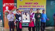 Đồng bào Mông vui Ngày hội đại đoàn kết