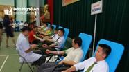 Trên 700 người tham gia ngày hội hiến máu ở Tương Dương
