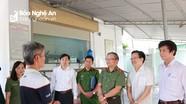 Phó Chánh Văn phòng Bộ Công an kiểm tra việc điều trị Methadone tại Nghệ An