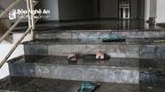 Toàn cảnh vụ cháy chung cư ở TP Vinh
