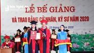 Đại học Vinh trao bằng cử nhân, kỹ sư cho 2.237 sinh viên
