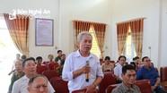 Cử tri huyện Anh Sơn kiến nghị nên áp dụng một mức khi tính giá điện sinh hoạt