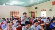 Đại biểu Quốc hội đề nghị Con Cuông đưa vấn đề xây dựng các tuyến đường vào đầu tư công trung hạn