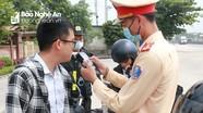 Nghệ An: 8 lái xe vi phạm nồng độ cồn bị xử lý trong dịp lễ Quốc khánh 2/9