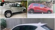 'Chiêu' kê gạch gây nhiều vụ trộm bánh xe ô tô ở Nghệ An