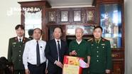 Chủ nhiệm Ủy ban Kiểm tra Tỉnh ủy thăm, chúc Tết tại huyện Yên Thành