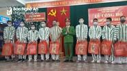 Nghệ An giảm án tù cho phạm nhân dịp Tết Nguyên đán
