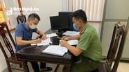 Xử phạt một lái xe tải vượt chốt kiểm soát phòng chống dịch