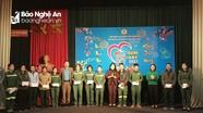Liên đoàn Lao động thành phố Vinh tổ chức 'Tết sum vầy' cho công nhân