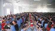 Nâng chất lượng bữa ăn ca cho công nhân