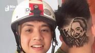 Chàng trai Nghệ An với tài khắc họa chân dung lên tóc