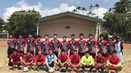 Giao lưu bóng đá quyên góp giúp đỡ gia đình hoạn nạn