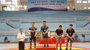 Đoàn Nghệ An giành 4 huy chương tại giải Vô địch trẻ Vật toàn quốc năm 2018